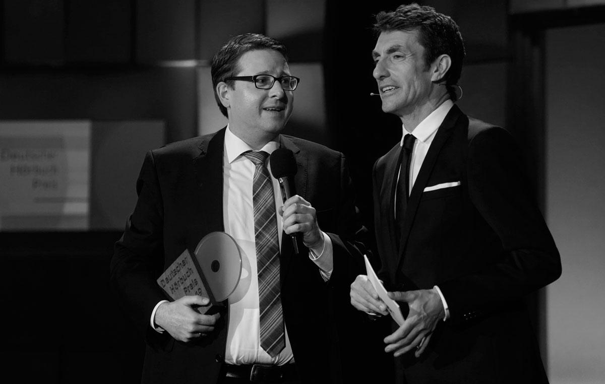 Knacki Deuser Keynote Speaker Hörbuchpreis 2019