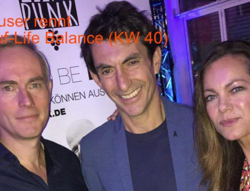 Deuser rennt – Lauf-Life Balance (KW 40)